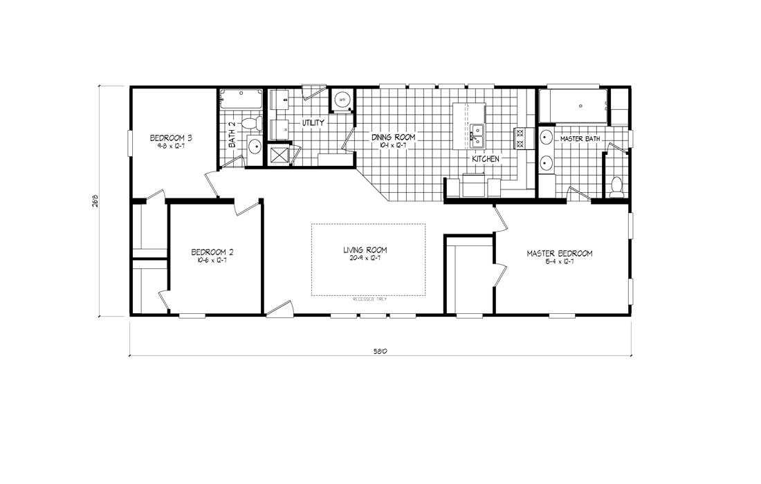 The 2467 HERITAGE Floor Plan