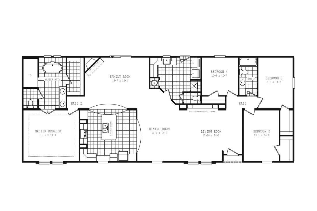 The 2097 HERITAGE Floor Plan