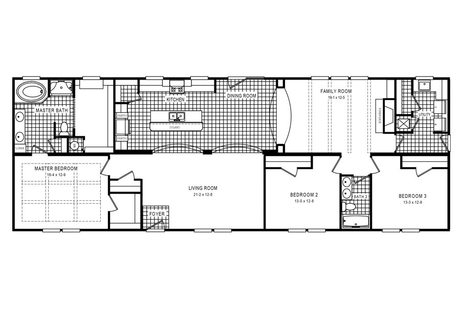 The 3333 HERITAGE Floor Plan