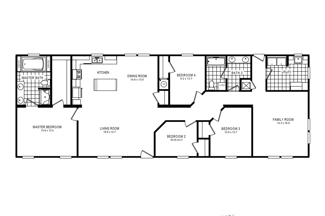 The 2917 HERITAGE Floor Plan