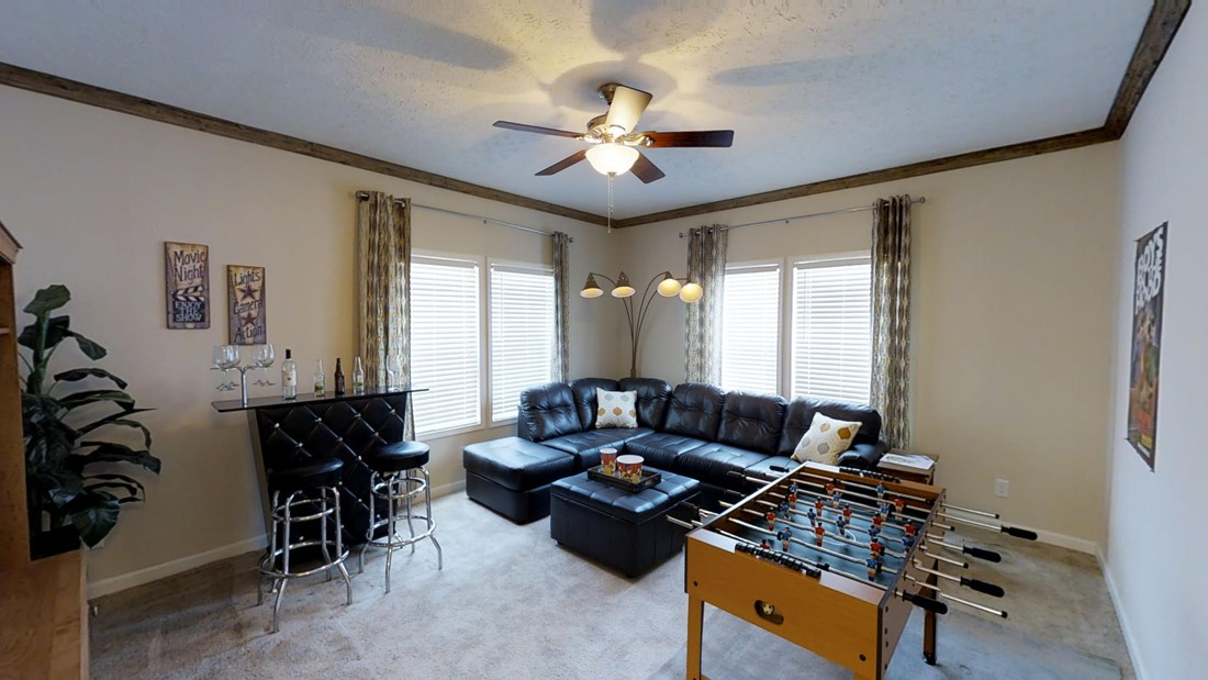 The 2917 HERITAGE Bonus Room. This Manufactured Mobile Home features 4 bedrooms and 2 baths.
