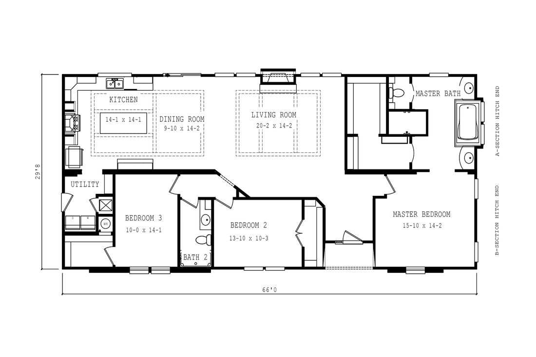 The 2083 HERITAGE Floor Plan